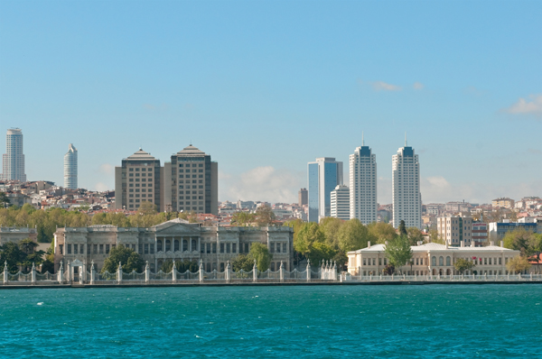 The modern skyline of Istanbul as seen from the Bosphorus.jpg